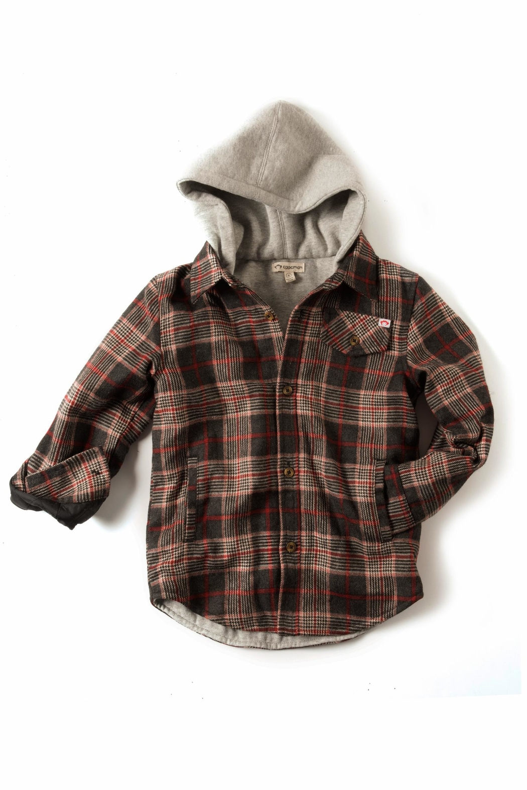 Appaman Plaid Hooded Jacket - Main Image