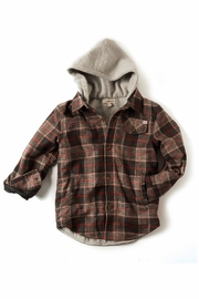 Appaman Plaid Hooded Jacket - Front cropped