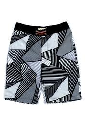 Appaman Abstract Swim Trunks - Front cropped