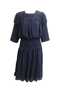 Apparalel Lace and Chiffon Dress - Product List Image