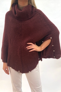 Apparel Love Cowl Neck Pearl Sweater - Product List Image