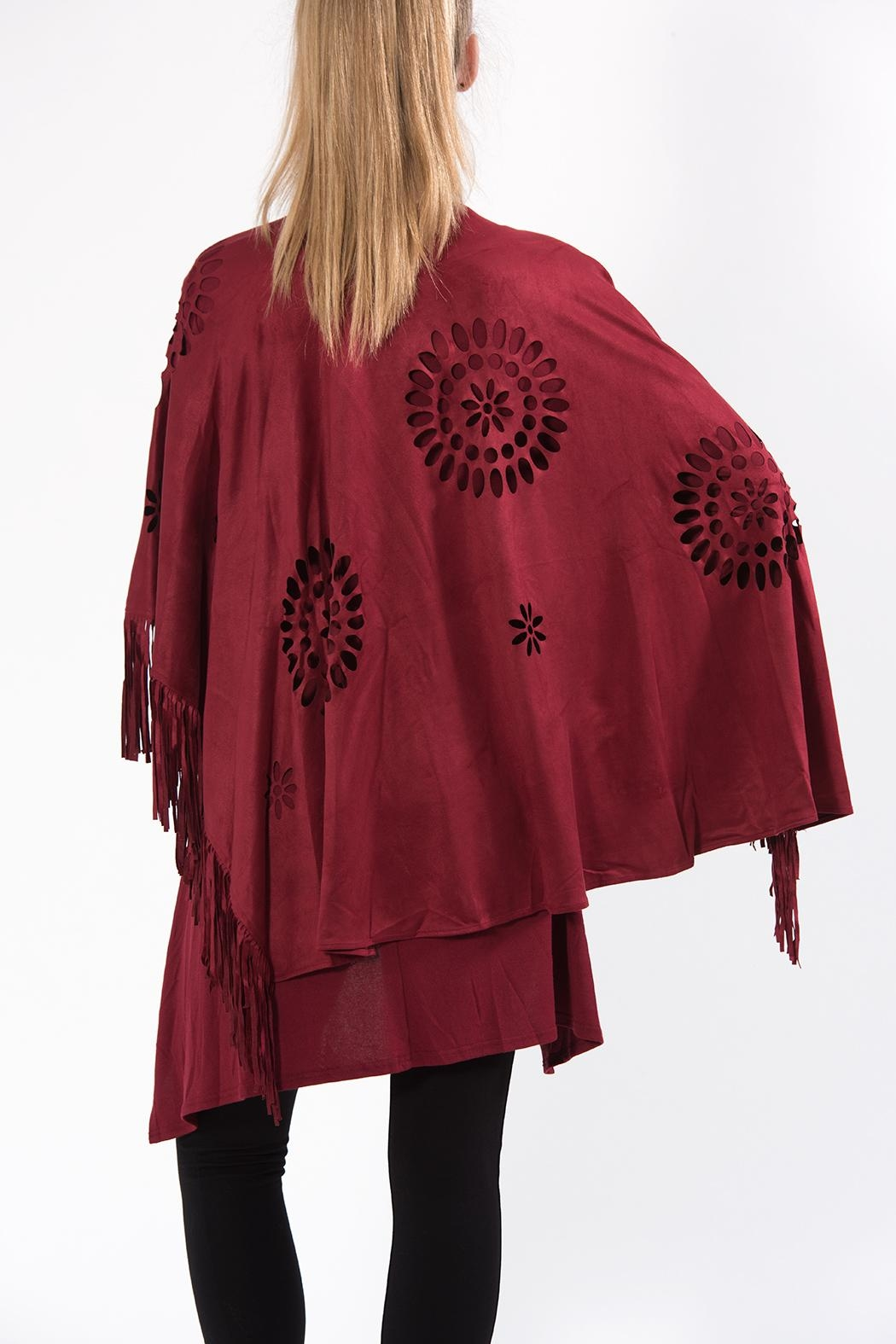 Apparel Love Cutout Cape - Side Cropped Image