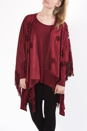Apparel Love Cutout Cape - Front cropped