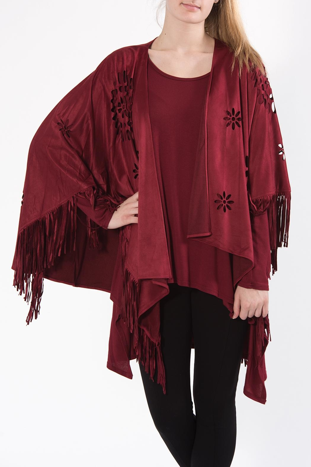 Apparel Love Cutout Cape - Front Full Image