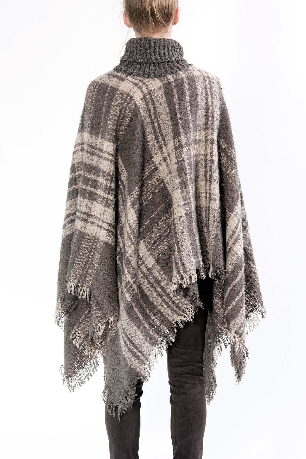 Apparel Love Fall Poncho - Front Full Image