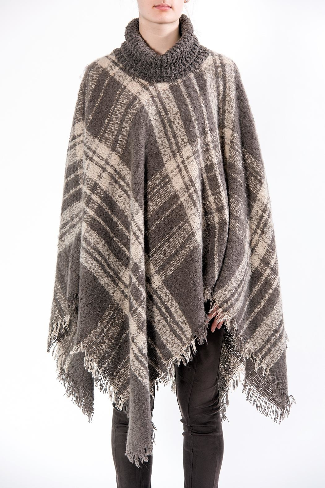 Apparel Love Fall Poncho - Front Cropped Image