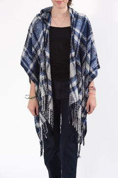 Shoptiques Product: Hooded Poncho