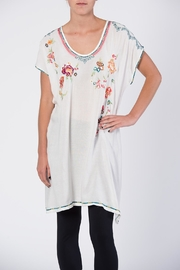 Apparel Love Multicolor Embroidered Tunic Top - Product Mini Image