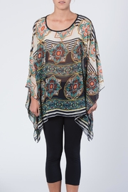 Apparel Love Multicolored Print Tunic Top - Product Mini Image