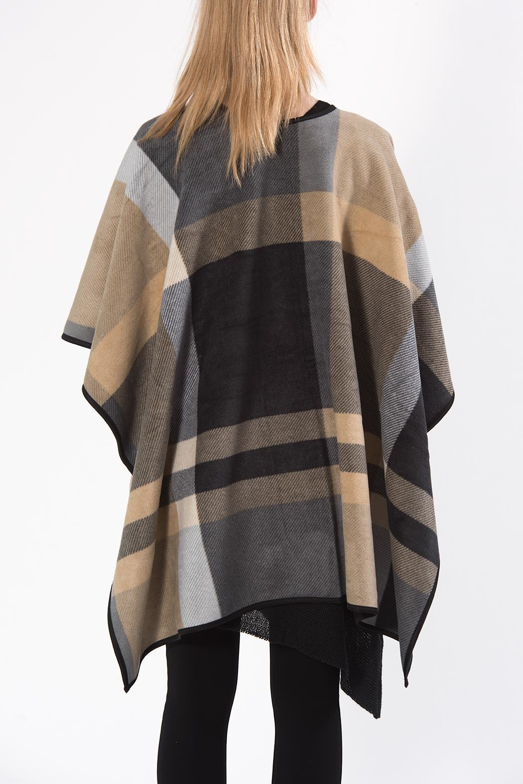 Apparel Love Reversible Shawl - Side Cropped Image
