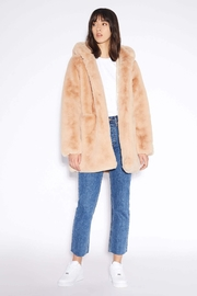 Apparis Marie Faux-Fur Coat - Front cropped