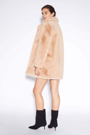 Apparis Sophie Faux-Fur Coat - Front full body