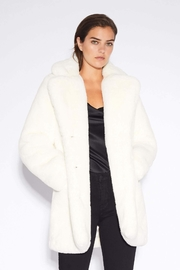 Apparis Sophie Faux-Fur Coat - Side cropped