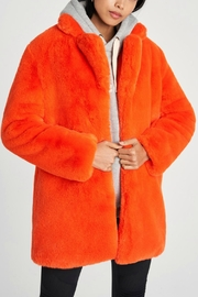 Apparis Sophie Orange Coat - Product Mini Image