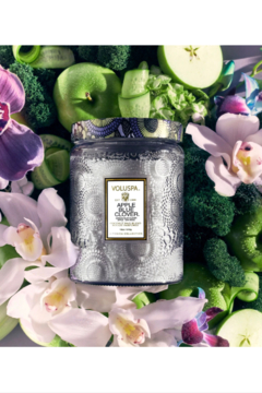 Voluspa Apple Blue Clover Large Jar Candle - Product List Image