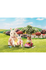 Calico Critters Apple & Jake's Ride n' Play - Front full body