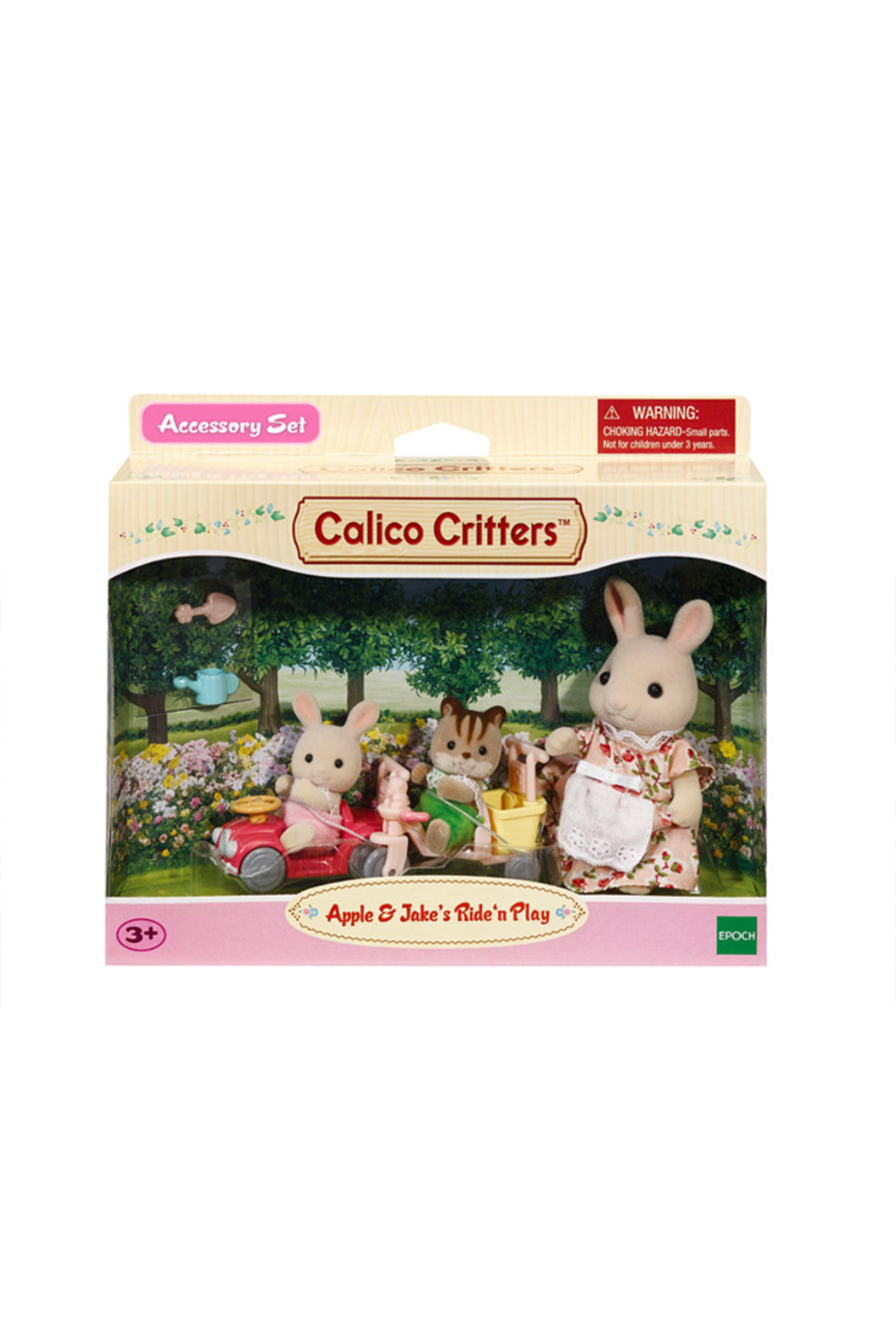 Calico Critters Apple & Jake's Ride n' Play - Side Cropped Image