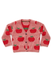 Oeuf Apple Kids' Cardigan - Front cropped