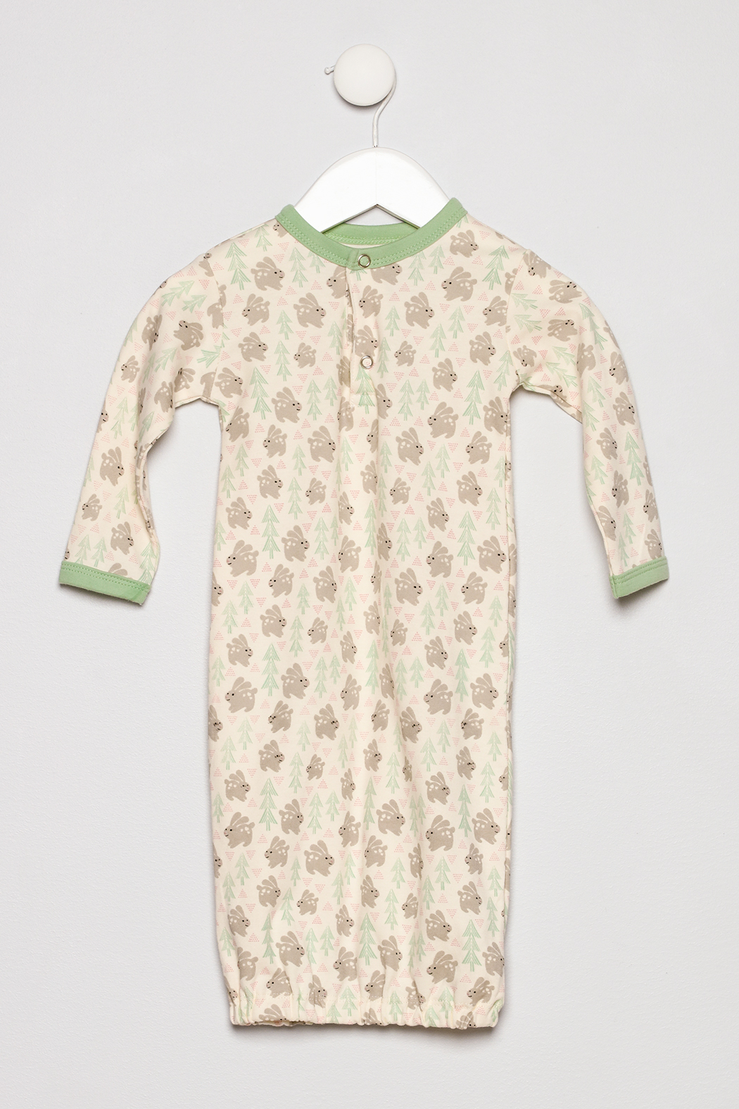 Apple Park Bunny Print Gown - Main Image