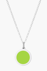 Auburn Jewelry Apple Silver Pendant - Mini - Front cropped