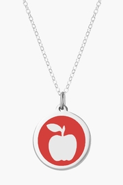 Auburn Jewelry Apple Silver Pendant - Original - Product Mini Image