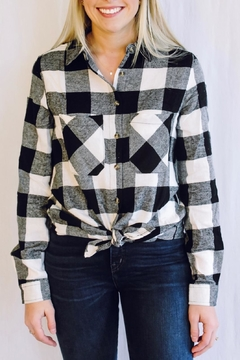 Apple B Plaid Button Down - Product List Image