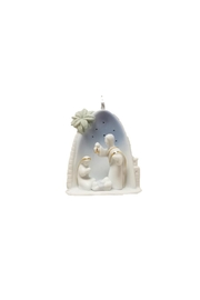Apple Tree  Family Ornament - Front cropped