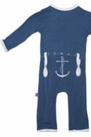 Kickee Pants Applique Coverall Snaps - Product Mini Image