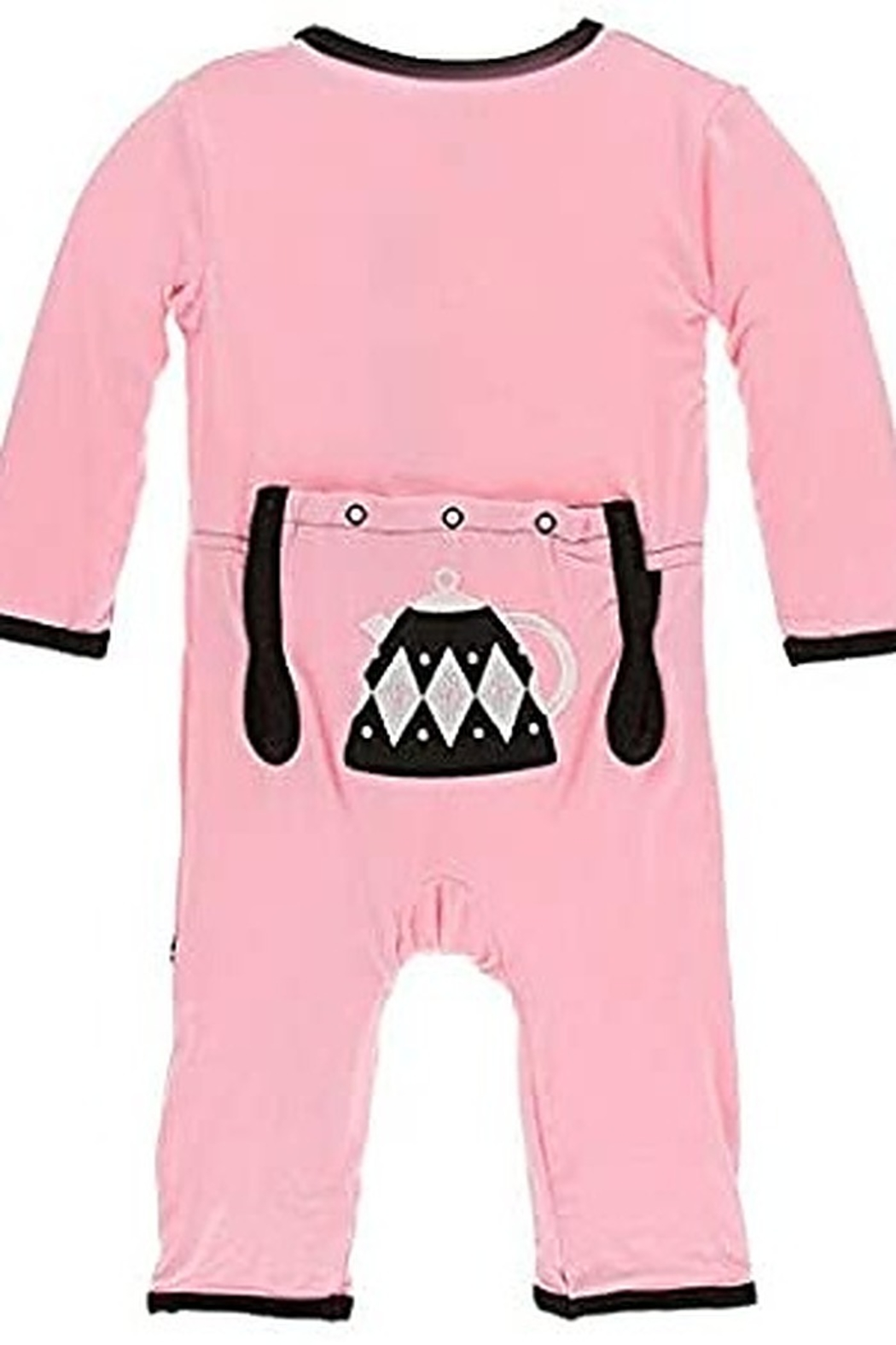 Kickee Pants Applique Coverall with Zipper - Main Image