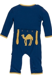 Kickee Pants Applique Coverall with Zipper - Front cropped