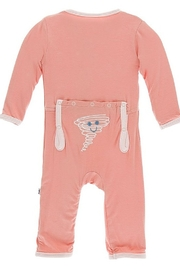 Kickee Pants Applique Coverall with Zipper - Product Mini Image