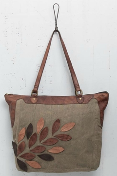 Mona B Applique Detailed Tote - Product List Image