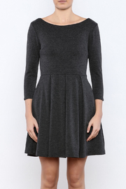 Apricity Charcoal December Dress - Side cropped