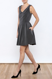 Apricity Charcoal Sunday Dress - Front full body