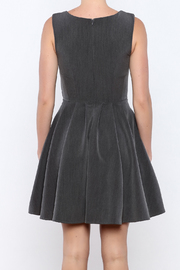 Apricity Charcoal Sunday Dress - Back cropped