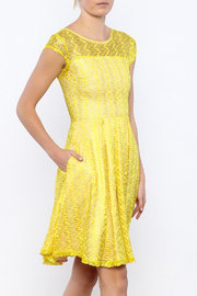 Apricity Gossamer Lemonade Dress - Product Mini Image