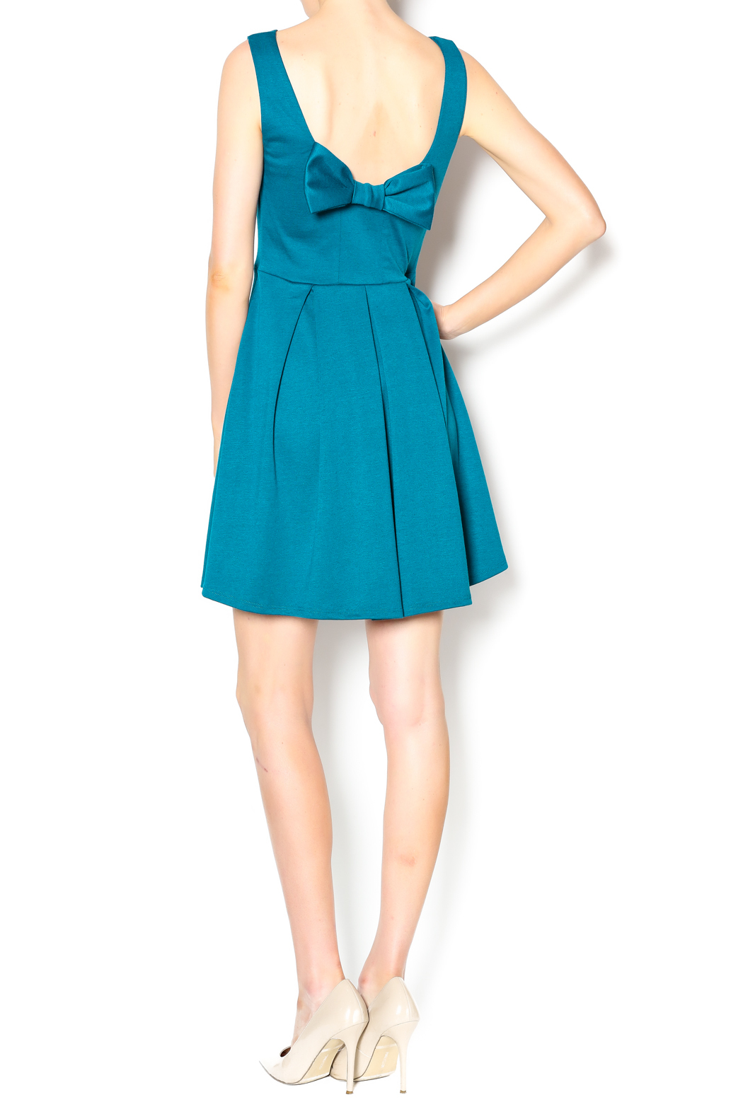 Apricity January Bow Dress - Side Cropped Image