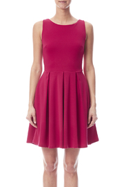 Apricity January Dress Fuchsia - Side cropped