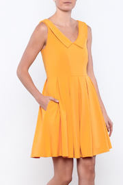 Apricity Mustard Sunday Dress - Product Mini Image