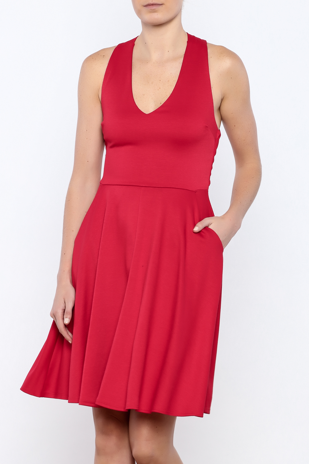 Apricity Red Solstice Dress - Main Image