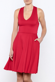 Apricity Red Solstice Dress - Product Mini Image