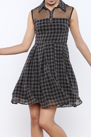 Apricity Willow Check Dress - Product Mini Image