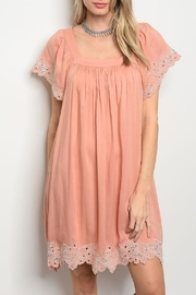 ee:some Apricot Lace Dress - Product Mini Image