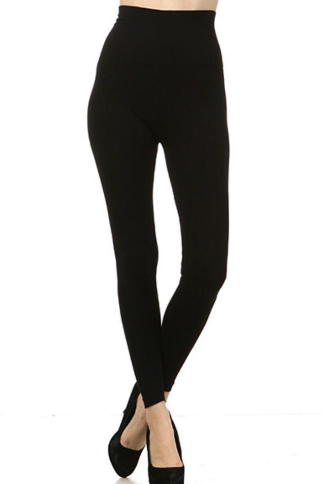 Apricot Magic Leggings - Front Cropped Image