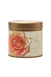 Rosy Rings Apricot Rose Signature Tin - Front cropped