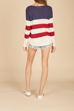 Apricot Lane American Flag Sweater - Alternate List Image
