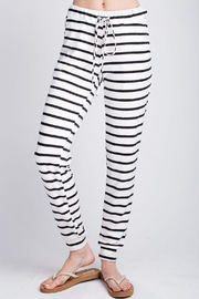 Apricot Lane Behind Bars Pants - Product Mini Image