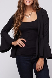 Apricot Lane Bell Sleeve Blazer - Front cropped