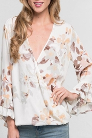 Apricot Lane Bell Sleeve Top - Product Mini Image