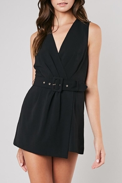 Apricot Lane Belted Romper - Product List Image